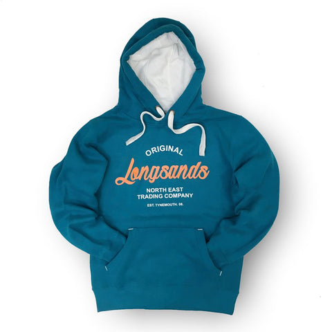 Longsands Classic Pull Over hoodie - Teal