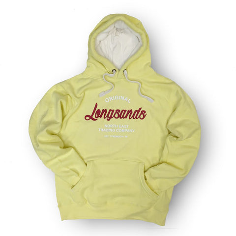 Longsands Classic Pull Over hoodie - Yellow
