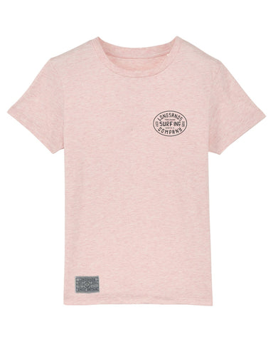 Kids Surf Inc. Tee - Dull Rose