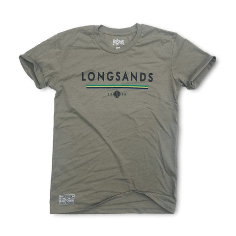 Lines Tee - Taupe