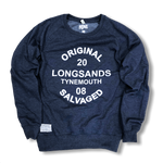 Navy Salvaged Sweatshirt
