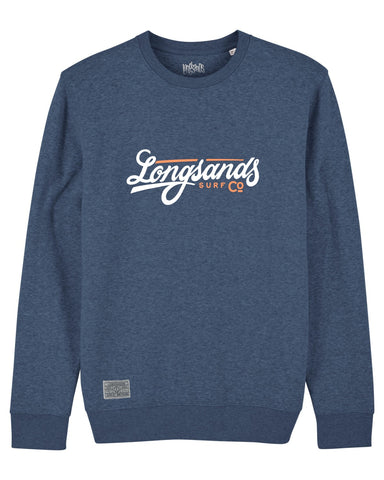 Signature Sweat - Dark Heather Blue