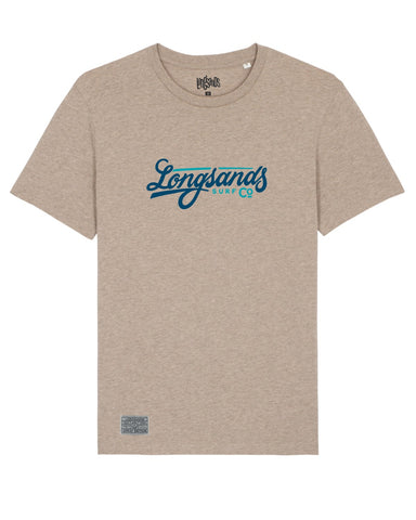 Signature Tee - Heather Sand