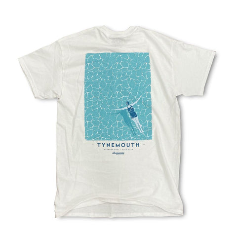 Tynemouth Outdoor Pool T-shirt - The Swimmer