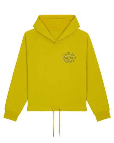 Womans Surf Inc. Boxy Hoody - Hay