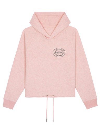 Womans Surf Inc. Boxy Hoody - Pink