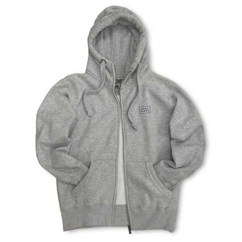 Rec Supreme Zip Hoody - Grey