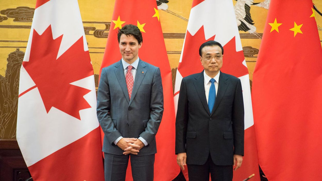 Canada calls for the immediate release of two of its Chinese nationals