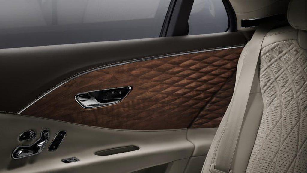 Bentley signs a world first in the luxury sector