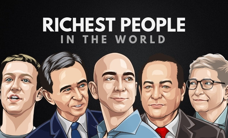 The 25 Richest People in the World 2019
