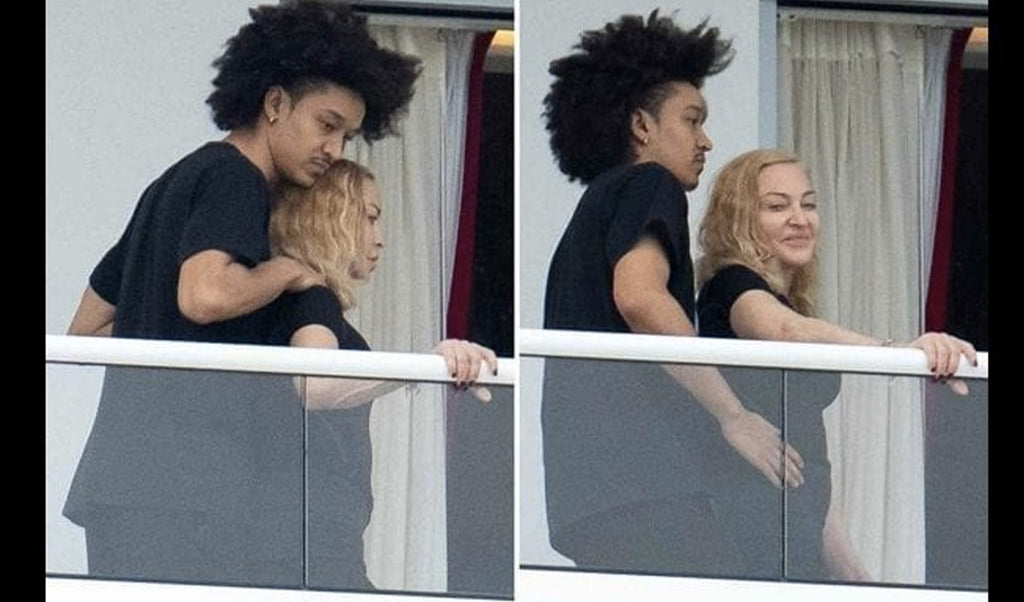 Madonna, 62, madly in love with her 27-year-old companion: they exchange a languid kiss on Instagram