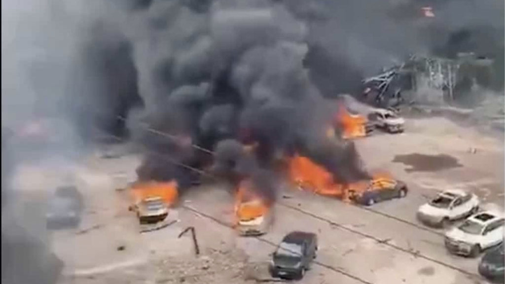 Breaking News : At least 10 dead and 117 injured in a powerful tanker truck explosion in China