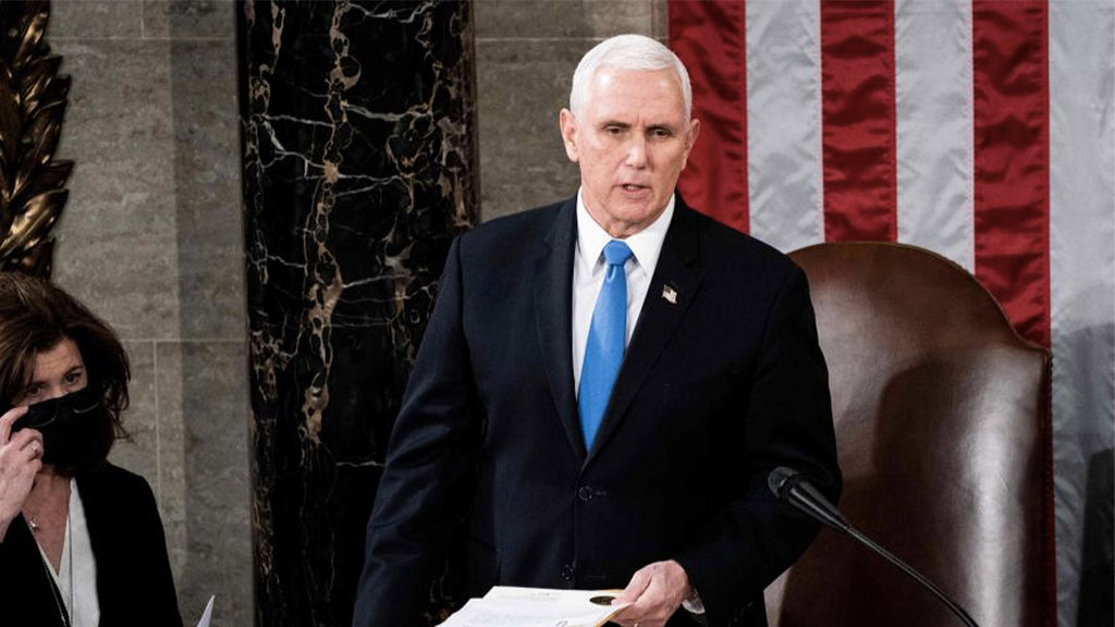 Vice President Mike Pence refuses to invoke the 25th amendment to remove Trump