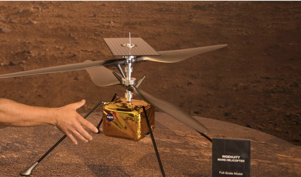 Ingenuity mini-helicopter reported for the first time since Mars