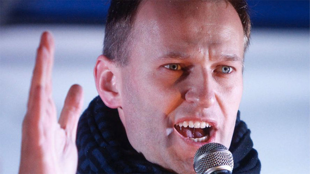 Opponent Alexei Navalny accuses Putin of being behind