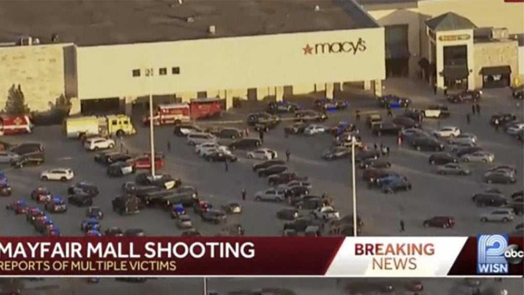 Shooting injures several at Milwaukee shopping center in the United States: man on the run