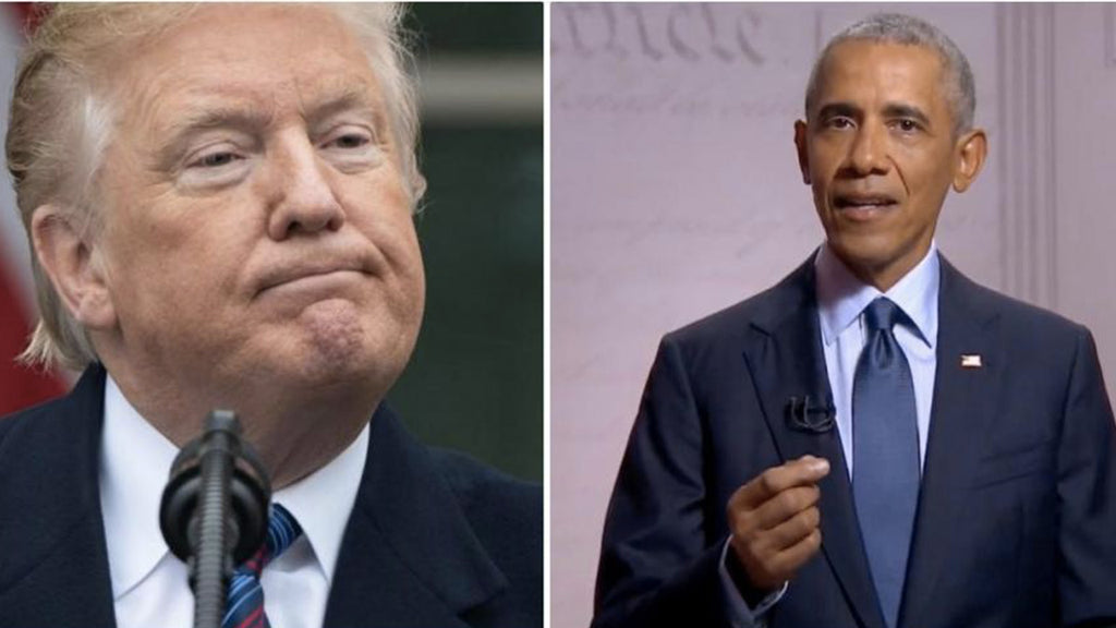 Donald Trump never took his role as president seriously, says Barack Obama: The consequences of this failure are serious.