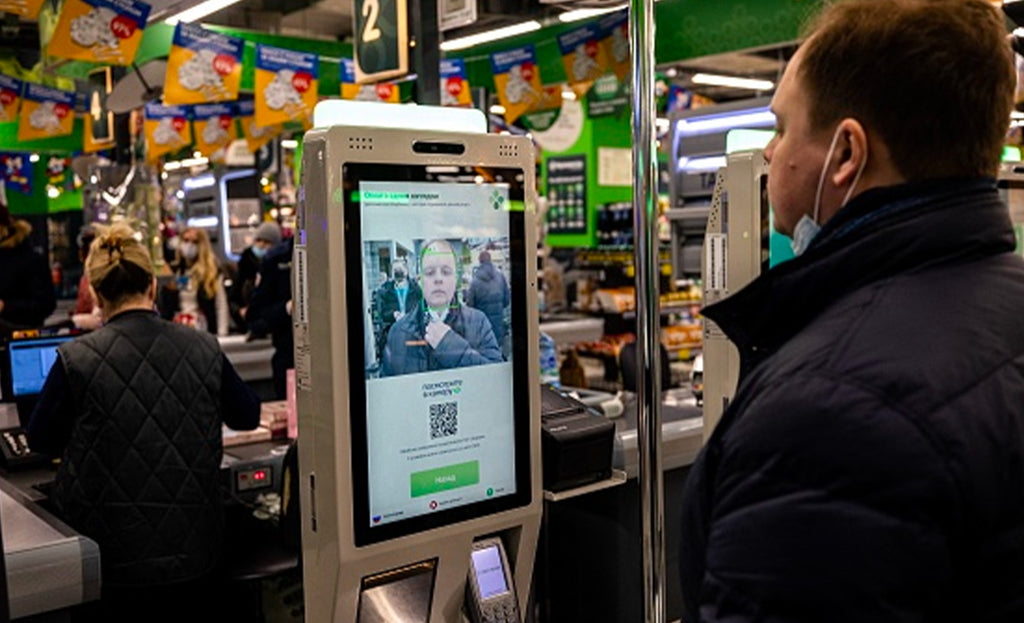 Paying with your fac? It is now possible in these Russian supermarkets