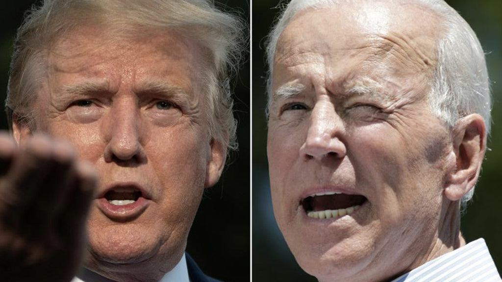2020 US presidential election: Donald Trump is far behind Joe Biden in major