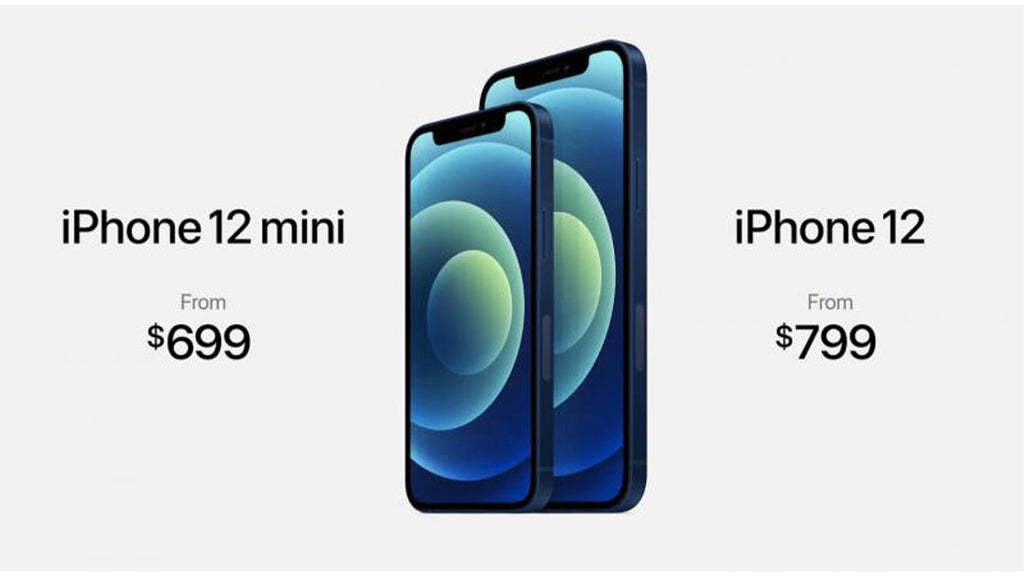 Here are all the iPhone 12s and prices: phones sold without chargers and headphones!