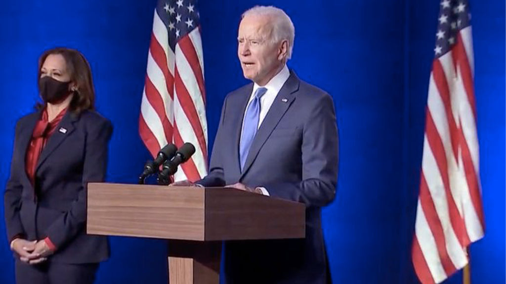 US elections: Biden promises to act against Covid-19 crisis from