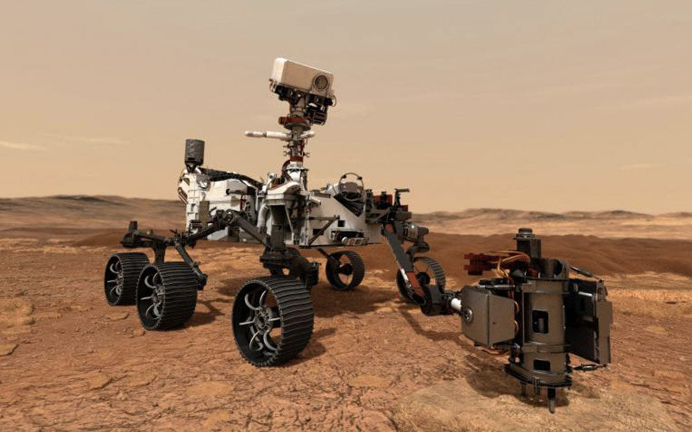NASA's Perseverance rover leaves for Mars