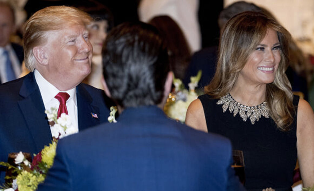 Donald and Melania Trump at your birthday party? You can do it by filling out this form!