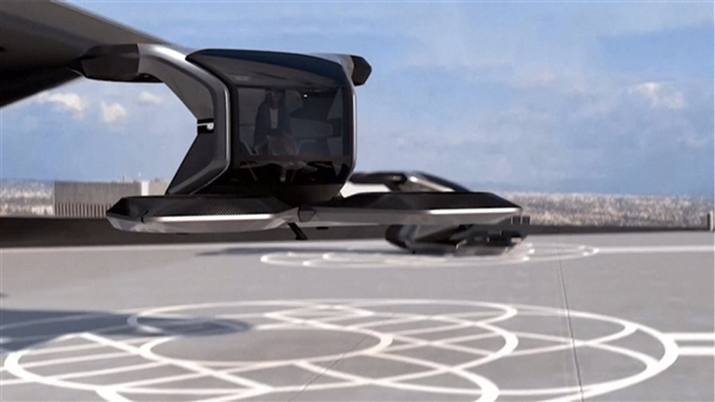General Motors Introduces Futuristic Flying Car