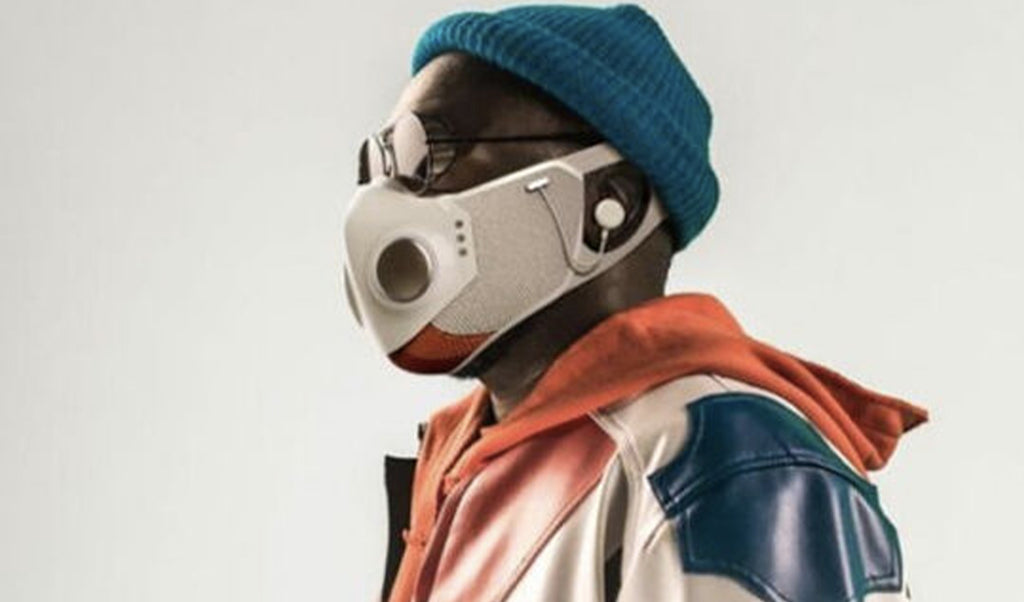 Will.i.am launches an anti-covid mask that is also a bluetooth headset