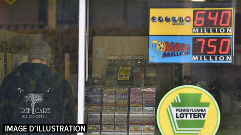 JACKPOT: One man wins nearly €608 million in the Mega Millions US lottery
