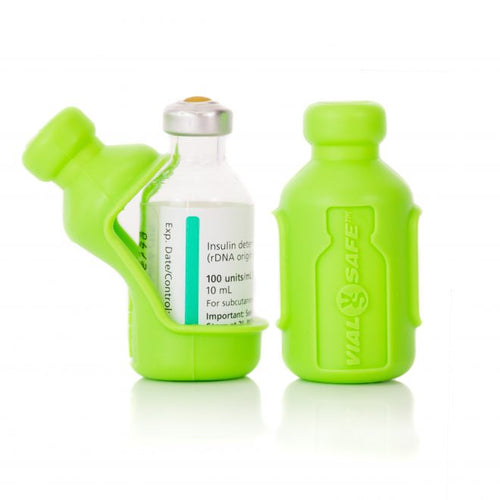 VialSafe Insulin Protection - 2 Pack - Green
