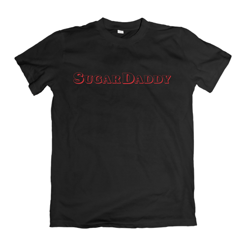 SugarDaddy T-Shirt - Zwart | SugarFam