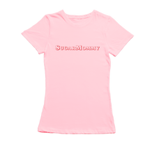 Afbeelding in Gallery-weergave laden, SugarMommy Dames T-Shirt - Roze | SugarFam