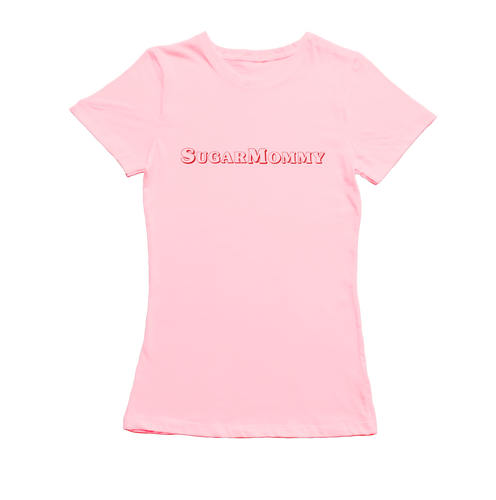 SugarMommy Dames T-Shirt - Roze | SugarFam