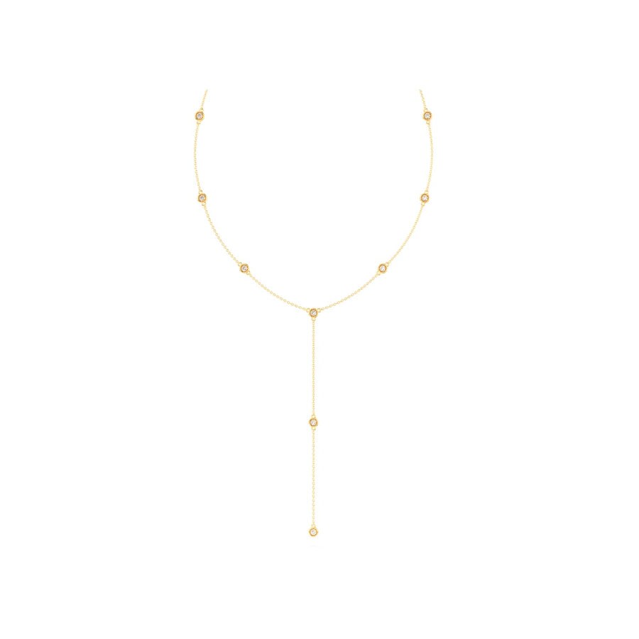 Gold Diamond By The Yard Lariat