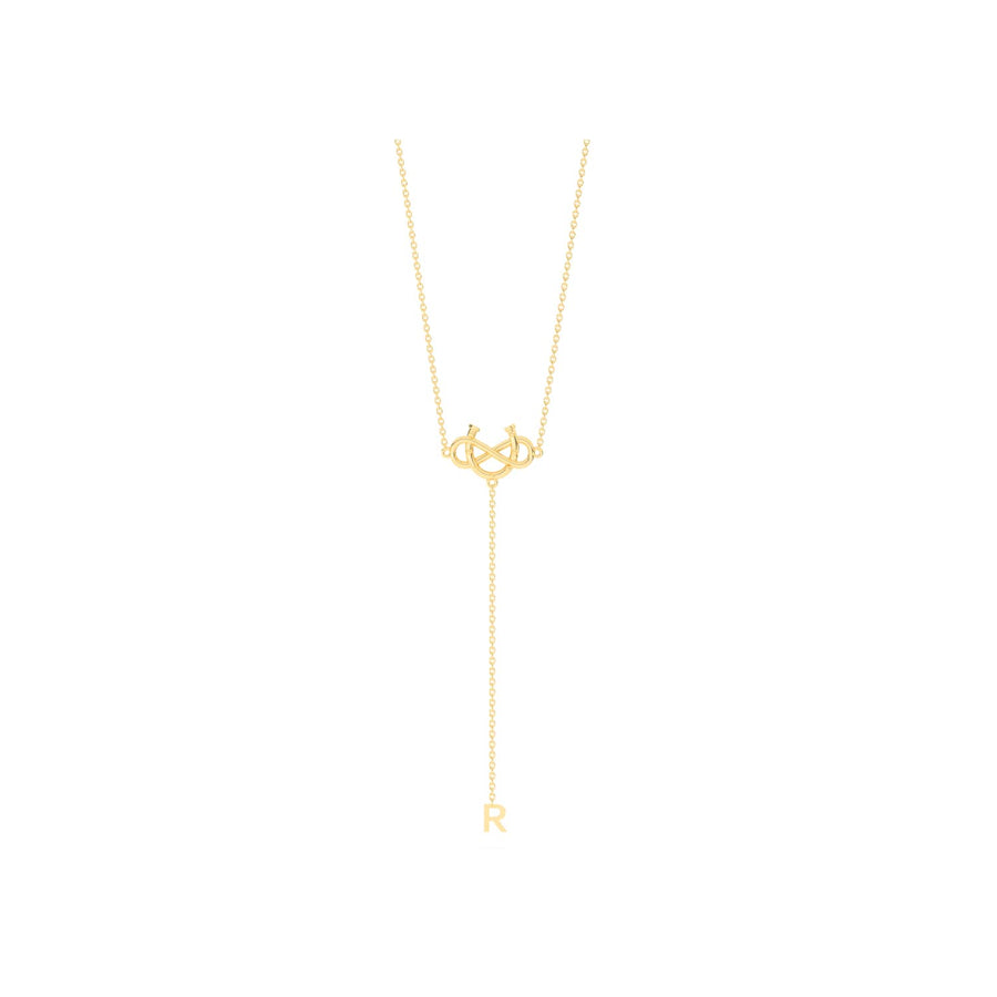 Personalized Initiate Luck Lariat