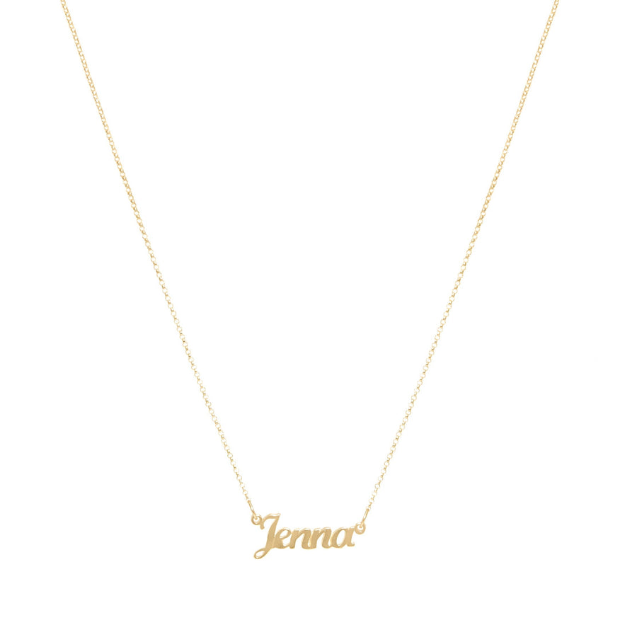 Gold Name Necklace