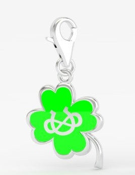 Infinite Luck Bridle Charm - Clover