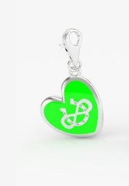 Infinite Luck Bridle Charm - Heart
