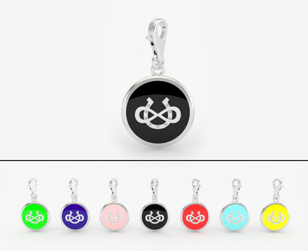 Infinite Luck Bridle Charm - Round