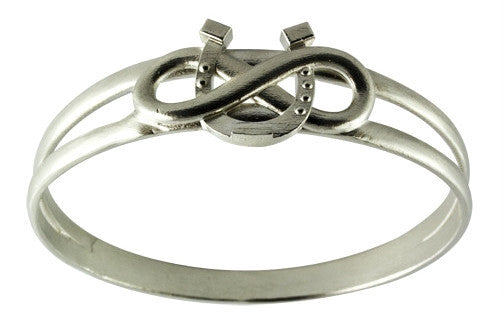 Equestrian Infinite Luck Bangle