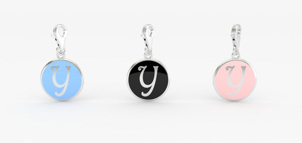 Luv Letter 'Y' Bridle Charm