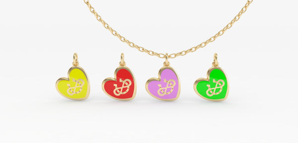 Infinite Luck Pendant - Heart