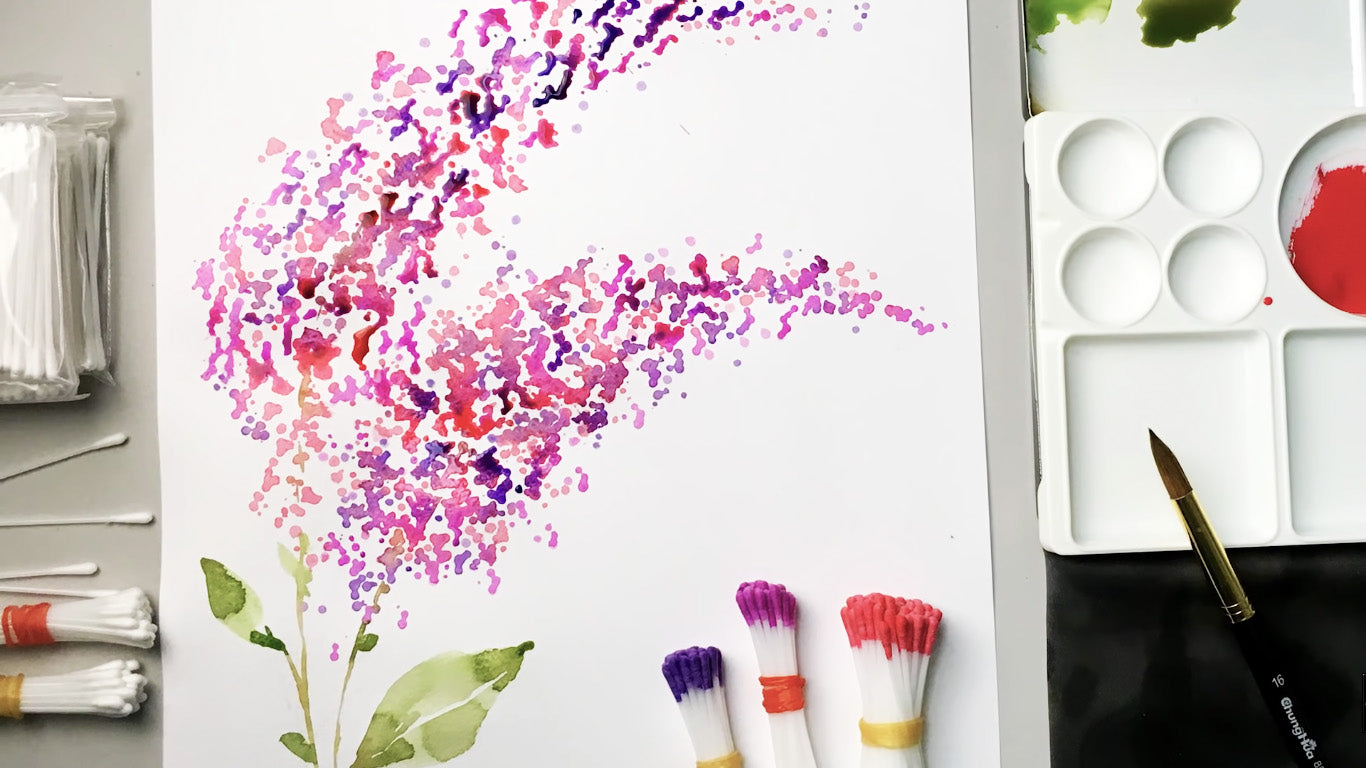 Watercolour Pad Set (complete with watercolour brush)