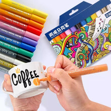 Load image into Gallery viewer, Acrylic Paint Markers - 12 colour pk