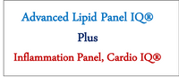 Advanced Lipid Panel With Inflammation Biomarkers, Cardio IQ®
