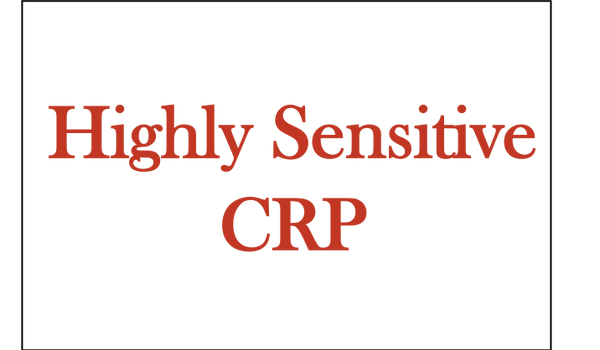 Highly Sensitive CRP (hs CRP Cardio)