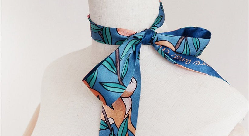 TIE THE KNOT | 10 Ways To Wear A Silk Scarf In Style