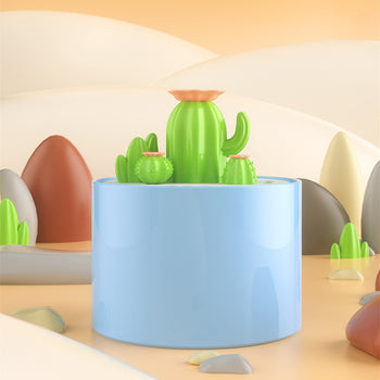 Cactus Shaped Cat Water Fountain