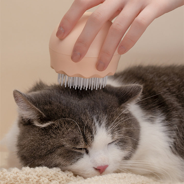 Jellyfish Shape Pet Hair Removal Massage Comb